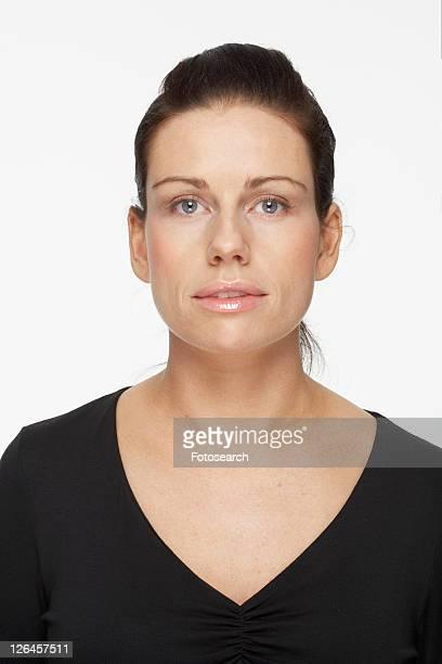 Mid adult woman, portrait