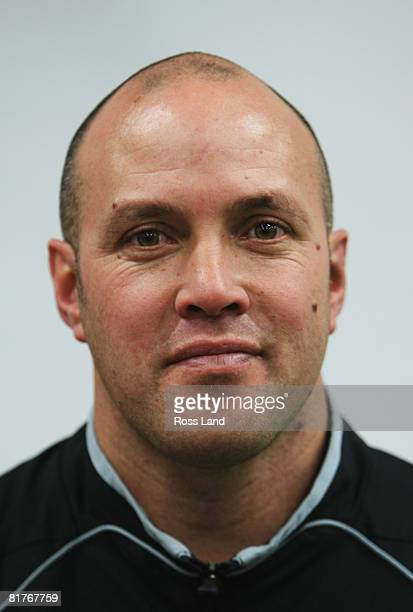 Mid Canterbury coach Mike Mullins photographed during a New Zealand Rugby Union AA Rewards Heartland Provincial Unions training session at the Poneke...