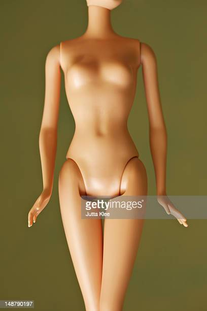 mid section of fashion doll body