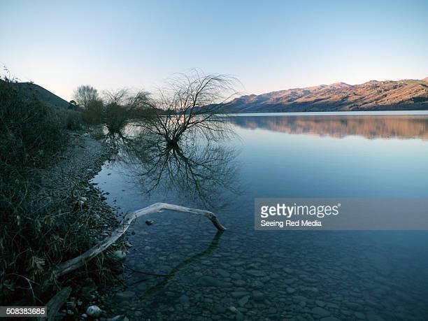 Mid Winter lake