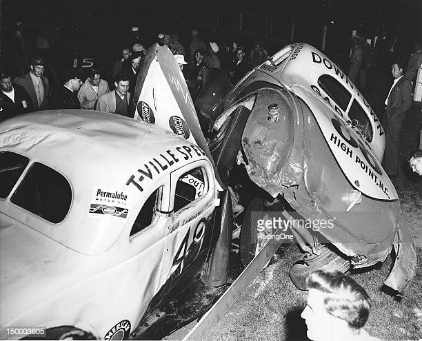 It was not a very good night for Modified stock car racers Bob Lancaster and Shorty York at BowmanGray Stadium
