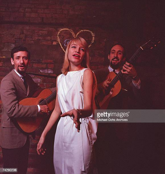 New York City based folk Group Peter Paul and Mary pose for a mid 1960's portrait
