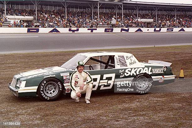 Harry Gant at Daytona International Speedway with the Skoal Bandit Buick The car was owned by actor Burt Reynolds and veteran stuntman Hal Needham