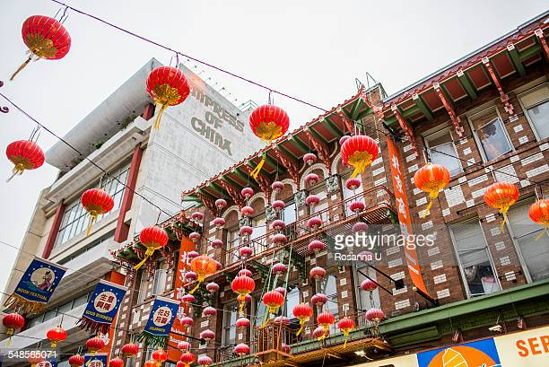 mid-autumn festival in chinatown, san francisco, california, usa - chinatown stock photos and pictures