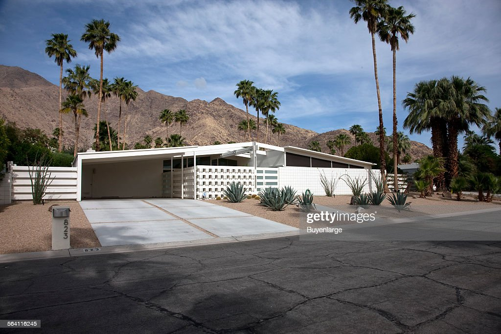 Mid-century modern home built by the Alexander Construction Company ...