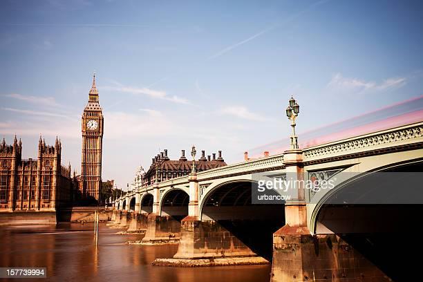 Midday Westminster Bridge, Big Ben