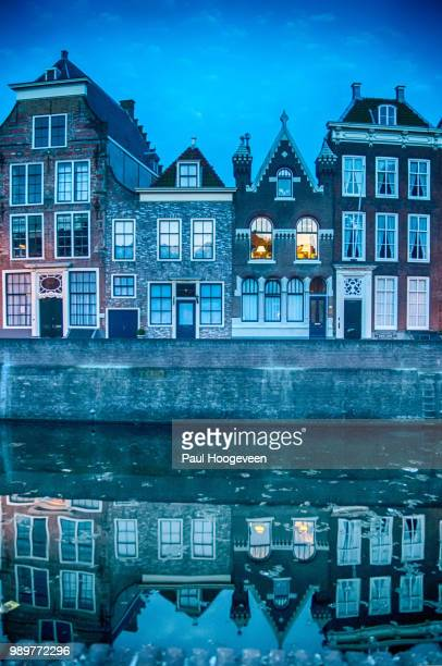 middelburg - blue hour - hoogeveen stock pictures, royalty-free photos & images