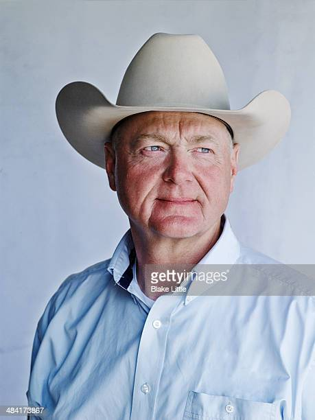 middle age cowboy rancher - cowboy hat stock pictures, royalty-free photos & images