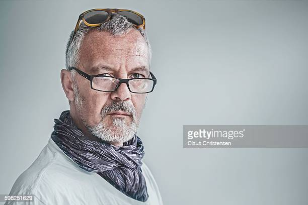 middle age - scarf stock pictures, royalty-free photos & images