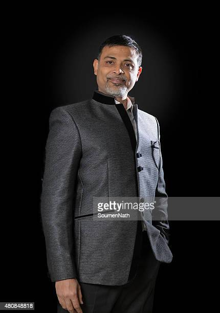 Middle aged, Urban Indian Man