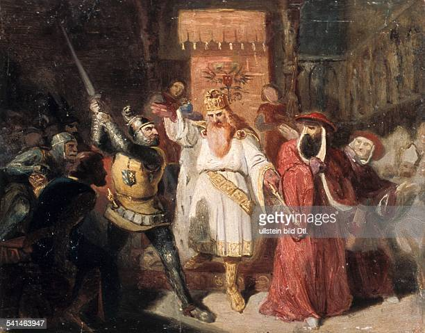 Middle Ages German Kings Frederick I *11221190 German King Holy Roman Emperor Barbarossa settles a dispute between Otto von Wittelsbach and Cardinal...