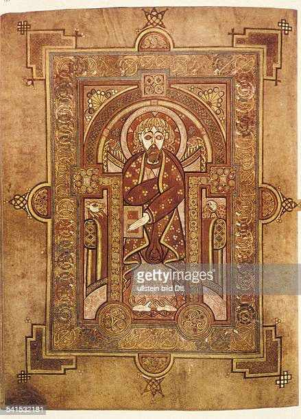 Middle Ages Matthew Saint apostle evangelist disciple of Jesus from the Book of Kells around 800