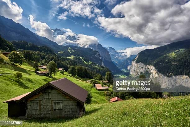 middle earth - lauterbrunnen - fotografias e filmes do acervo