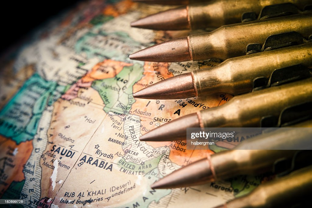 Middle East Conflict : Stock Photo