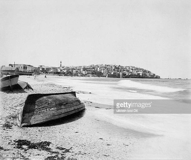 Middle East Jaffa Old City and beach date unknown probably 1898