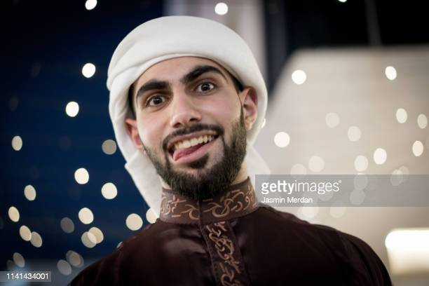 middle eastern boy out - kaffiyeh stock pictures, royalty-free photos & images