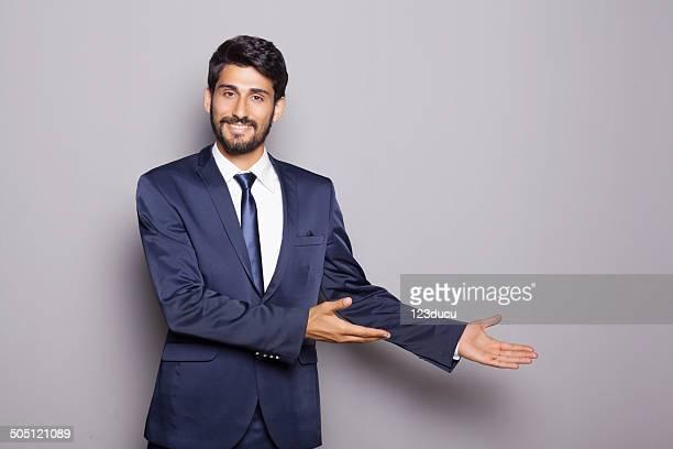 Middle Eastern Businessman Advertising