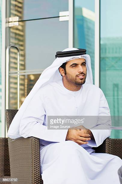 A middle eastern businessman