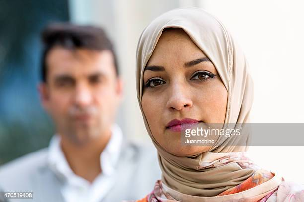 Middle eastern couple