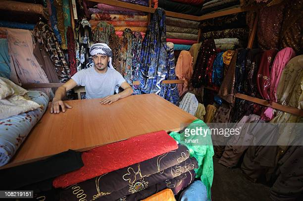 middle eastern drygoods store, sanliurfa, turkey - şanlıurfa stock pictures, royalty-free photos & images