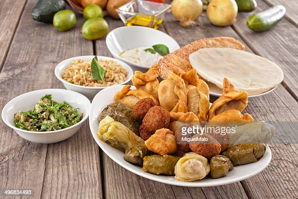 Middle Eastern food, mostly meat free, can be a healthier fast food option.