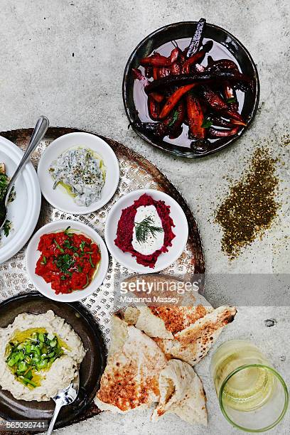 Middle Eastern Maza Platter