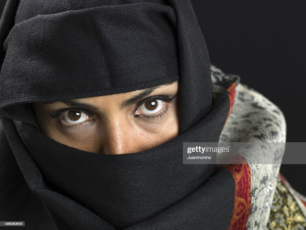 Middle eastern woman at her forties : Stock Photo