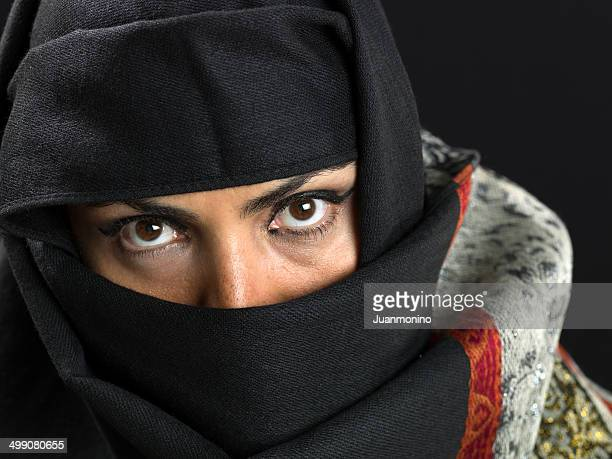 Middle eastern woman at her forties