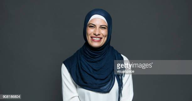 Middle Eastern Woman Laughing