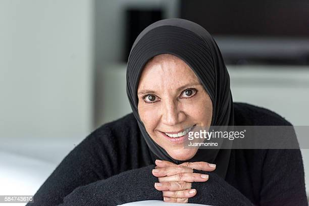 middle eastern woman - religious dress stock photos and pictures