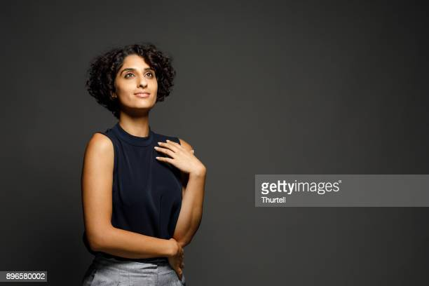 middle eastern woman - lebanese ethnicity stock photos and pictures