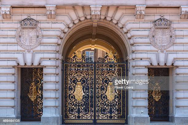 Middle Gate at Buckingham Palace