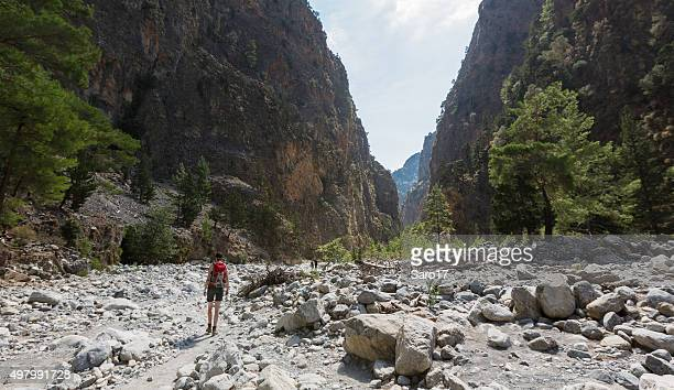 Middle part of Samaria Gorge