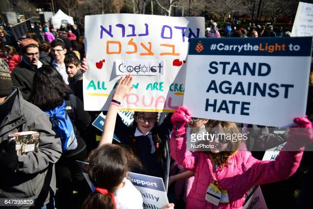 24 middle school students and clergy of the Jewish State school of Lehigh Valley PA are amongst those attending as Interfaith Church and Community...