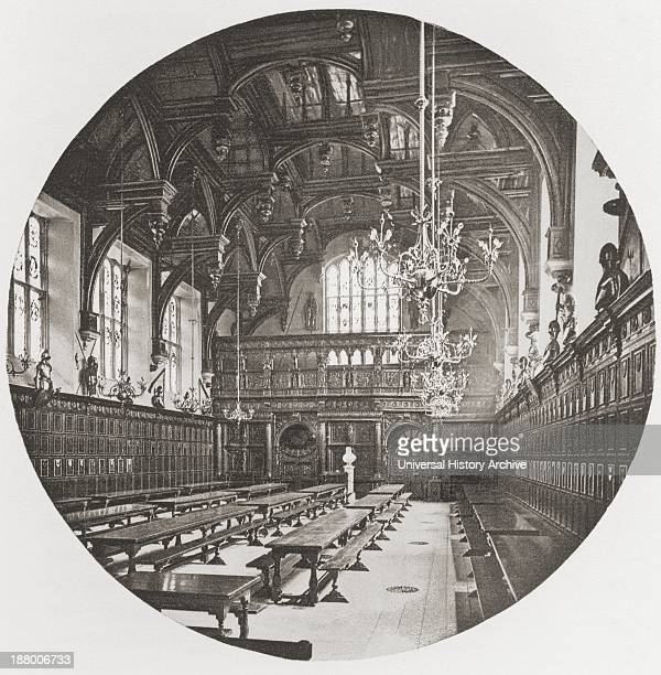 Middle Temple Hall One Of The Four Inns Of Court London England In The Late 19Th Century From London Historic And Social Published 1902
