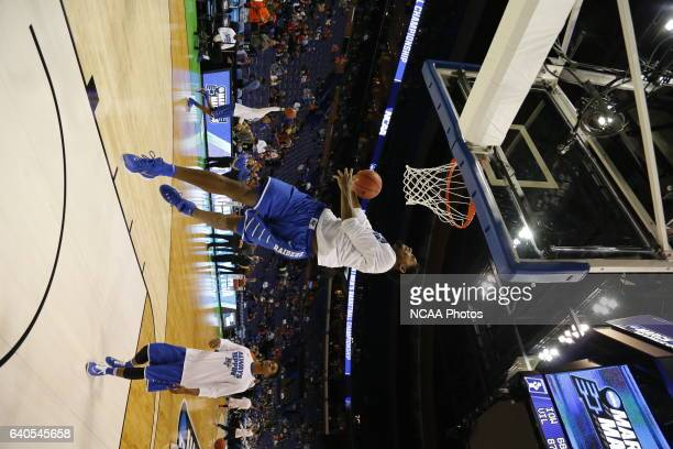 Middle Tennessee State University takes on Syracuse University during the 2016 NCAA Photos via Getty Images Men's Basketball Tournament held at the...