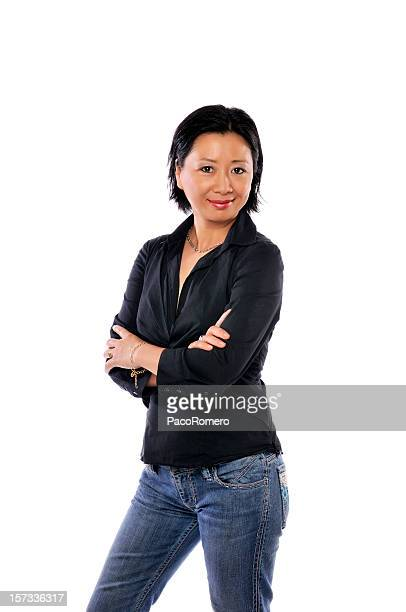 Middle-age casual women series