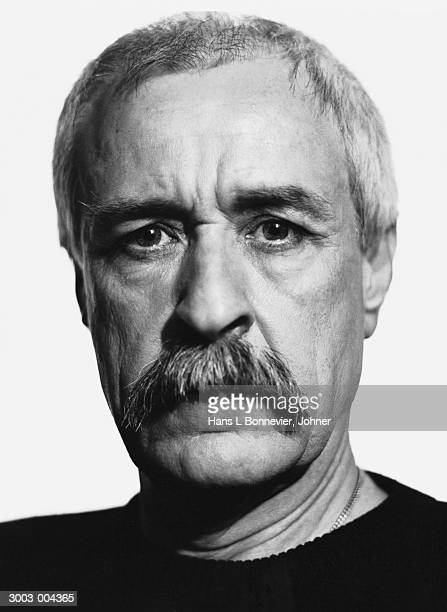 Middle-Aged Man with Mustache