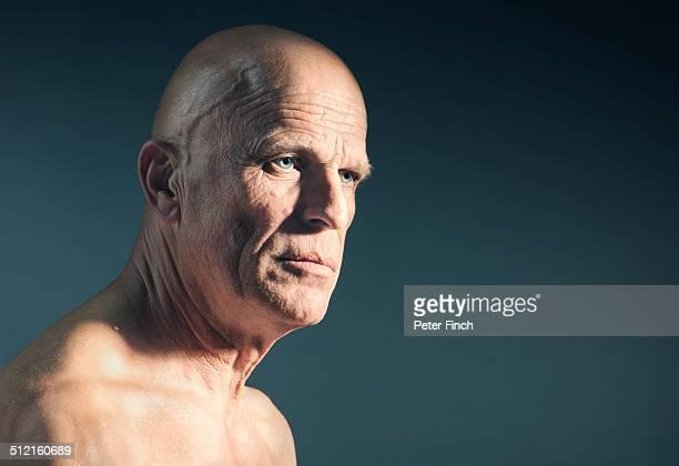 Middle-aged man's portrait