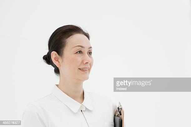 Middle-aged nurse