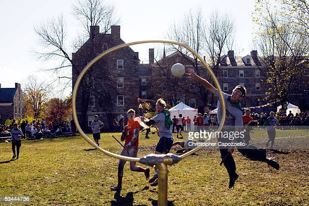 Middlebury College hosted the first large Intercollegiate Quidditch Tournament Twelve teams from around the country traveled to Middlebury College...