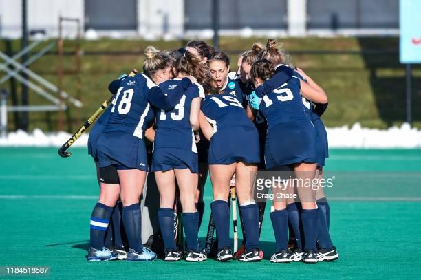 Middlebury Panthers against the Franklin Marshall Diplomats at the Division III Women's Field Hockey Championship held at Spooky Nook Sports on...