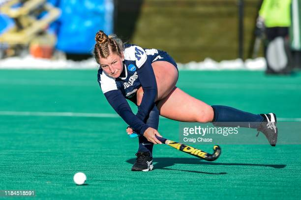 Middlebury Panthers Sophia Peluso against the Franklin Marshall Diplomats at the Division III Women's Field Hockey Championship held at Spooky Nook...