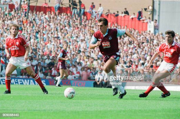 Middlesbrough 0-0 West Ham, Division Two league match at Ayresome Park, Saturday 25th August 1990.
