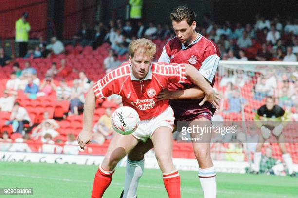 Middlesbrough 00 West Ham Division Two league match at Ayresome Park Saturday 25th August 1990
