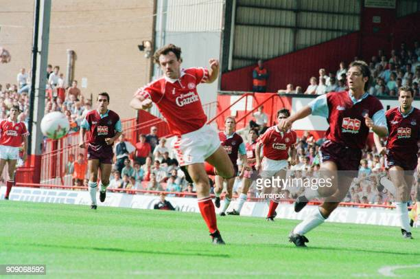 Middlesbrough 00 West Ham Division Two league match at Ayresome Park Saturday 25th August 1990 John Wark