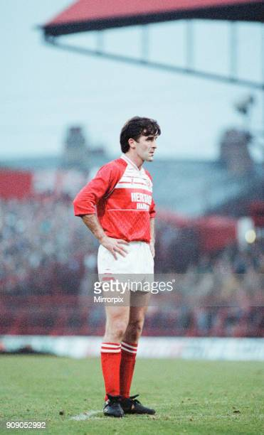 Middlesbrough 02 Leeds Division Two league match at Ayresome Park Saturday 9th December 1989 Bernie Slaven