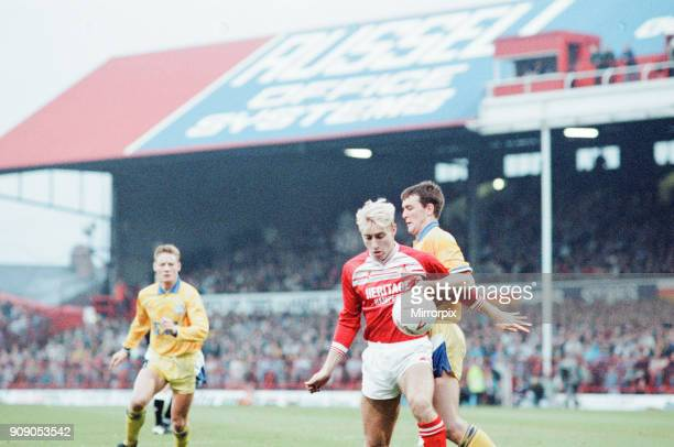 Middlesbrough 0-2 Leeds, Division Two league match at Ayresome Park, Saturday 9th December 1989.