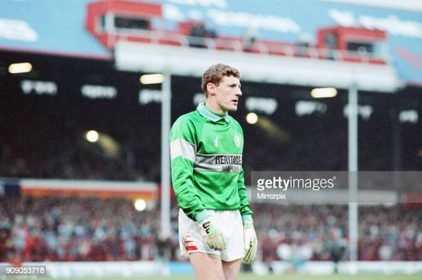 Middlesbrough 0-2 Leeds, Division Two league match at Ayresome Park, Saturday 9th December 1989. Kevin Poole, Goalkeeper.