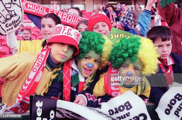 Middlesbrough 11 Leeds Premier league match at the Riverside Stadium Saturday 4th November 1995 Juninho Paulista Brazilian attacking midfielder makes...